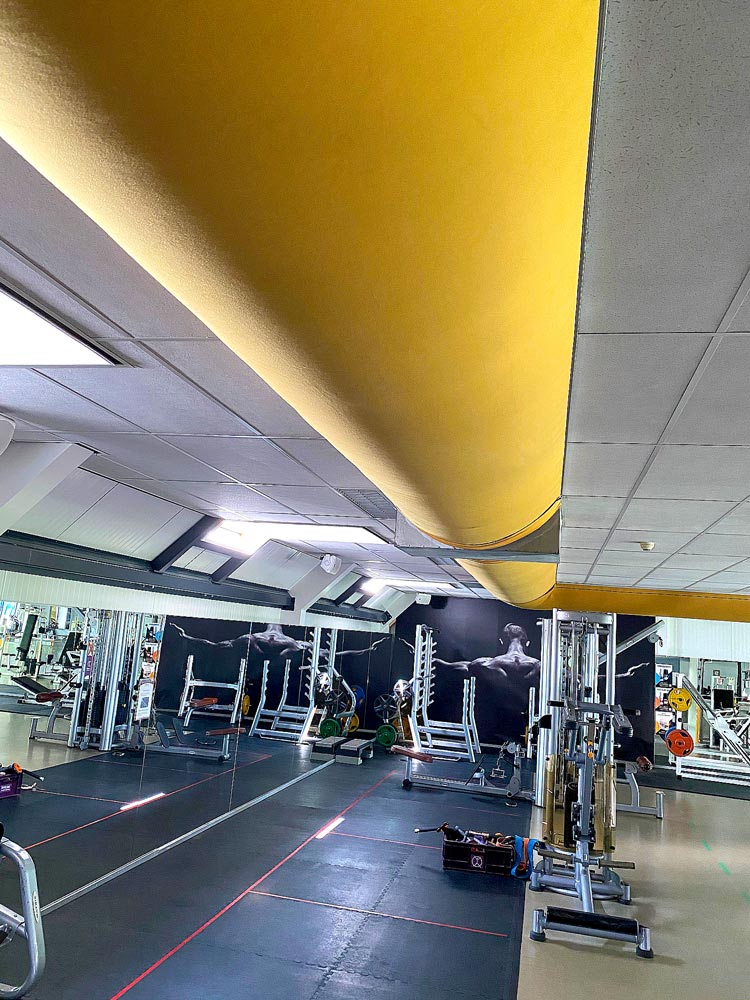 Luchtbehandeling sportschool Active